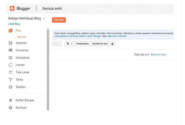 Cara Membuat Blog Website Gratis (Part 1) 4