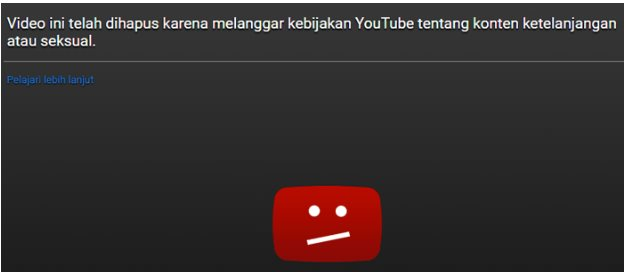 video aman di youtube