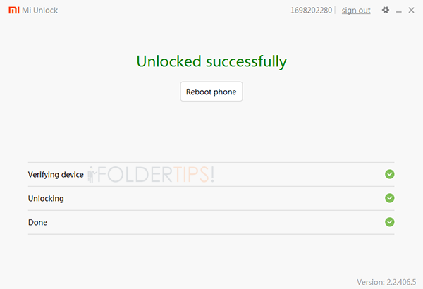 unlock boatloder Android Xiaomi