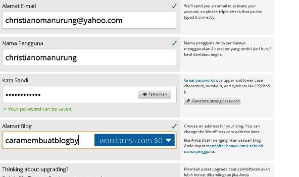 wordpress gratis