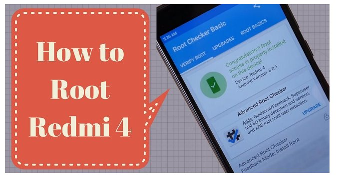 Cara Mudah Root Dan Instal TWRP Xiaomi Redmi 4, 4A, 4X, 4 Prime Anti Ngebrick Bonus Custom ROM Android 9