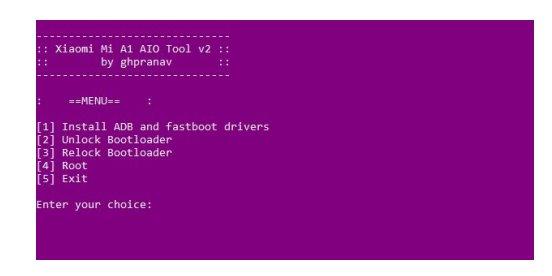 tips mudah root Xiaomi mi a1 tanpa TWRP