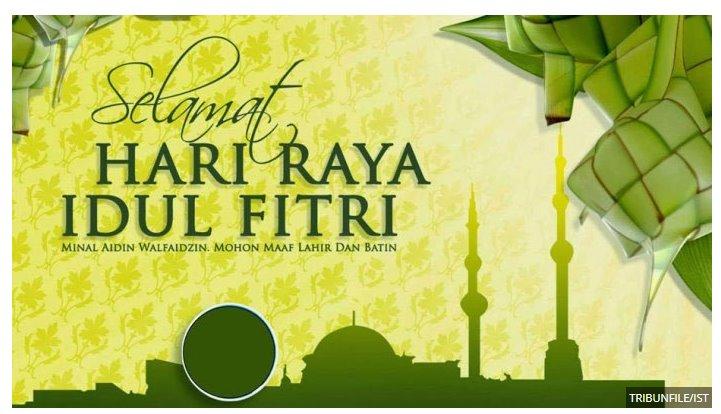 Ucapan Selamat Lebaran Idul Fitri