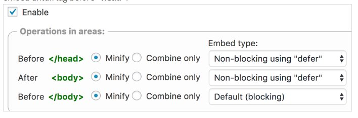 mengatasi Render-blocking Javascript And CSS