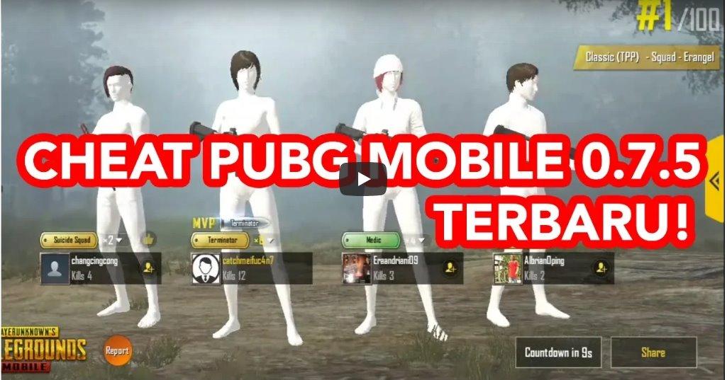 Cara Cheat Game PUBG Mobile di Android Tanpa Root