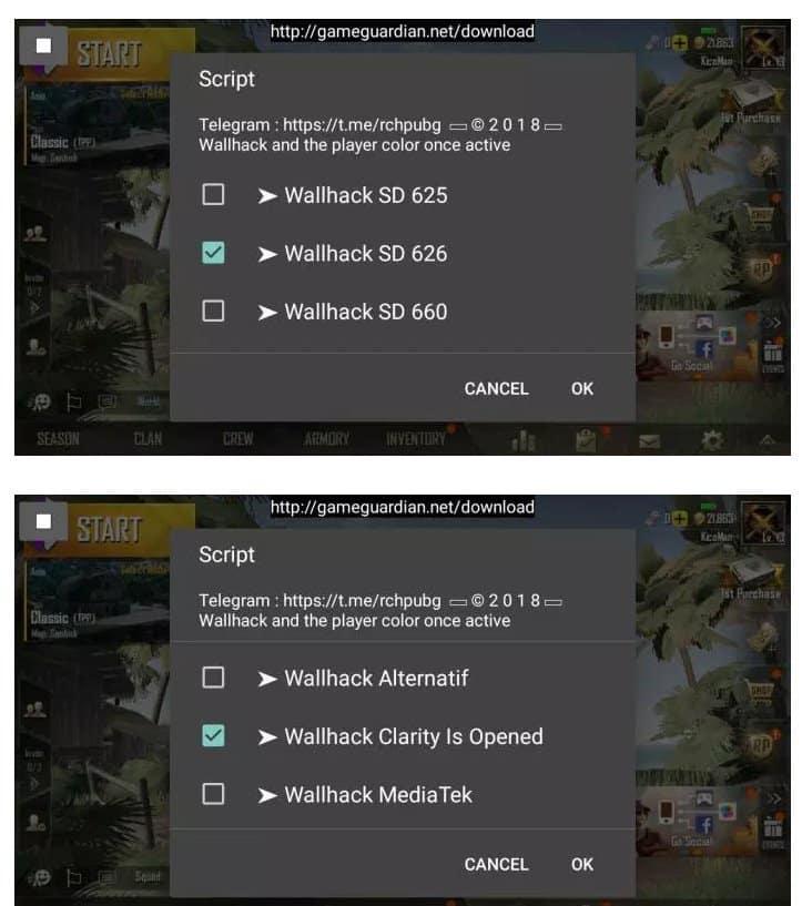 Cara Cheat Game PUBG Mobile di Android Tanpa Root 3