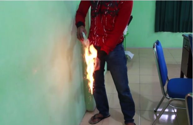 Video Viral Luwak White Coffee Terbakar