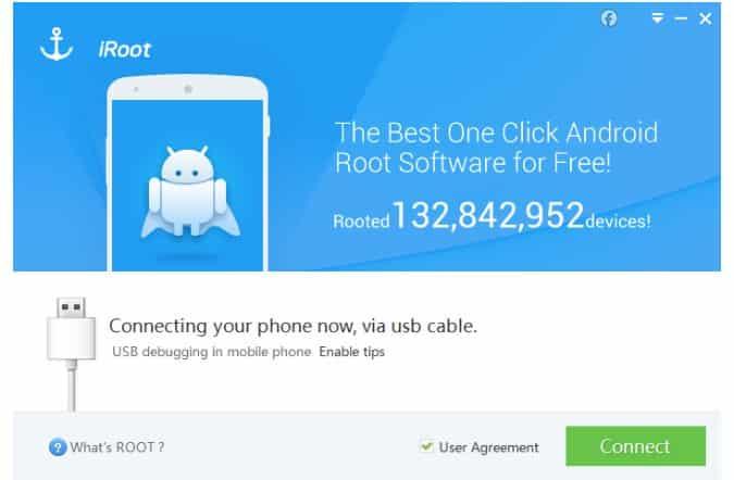 root dengan iroot