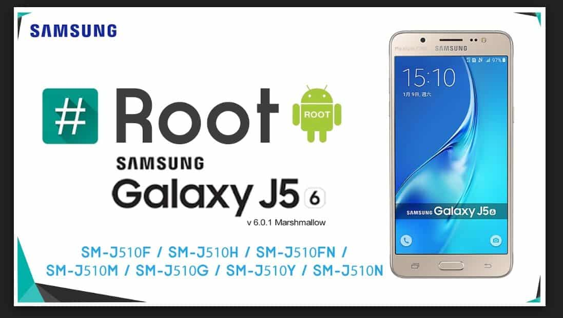 root samsung galaxy J5
