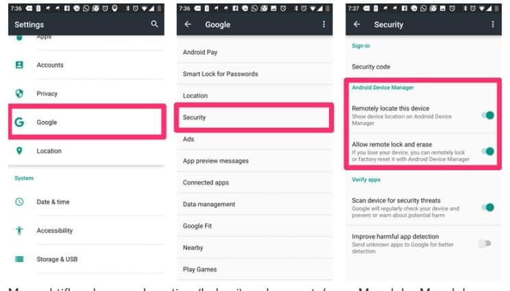 Cara Mencari Perangkat Saya di Android yang Hilang Ampuh 2