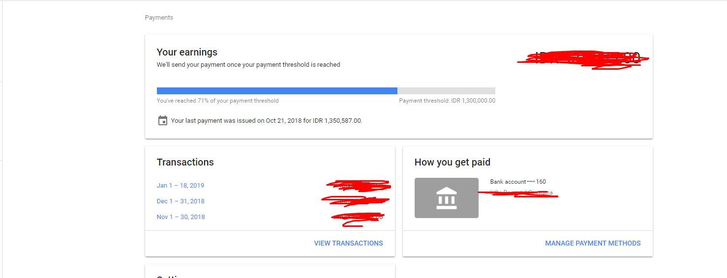 Cara Submit NPWP Di Google Adsense