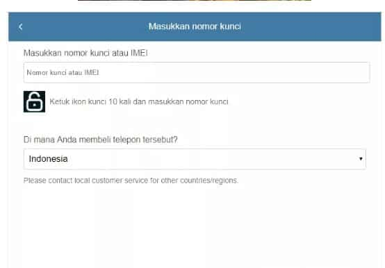 Lupa Password Akun Mi cloud