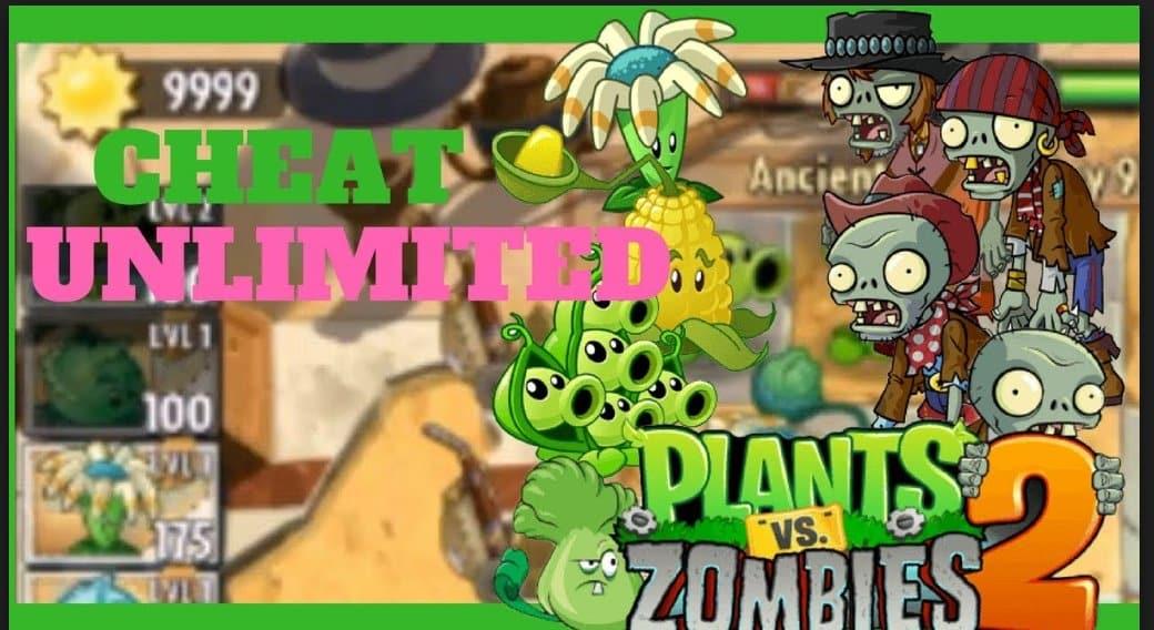 Gampang Cheat Plants Vs Zombie 1 dan 2 Dengan MoD APK Serta Game Guardian