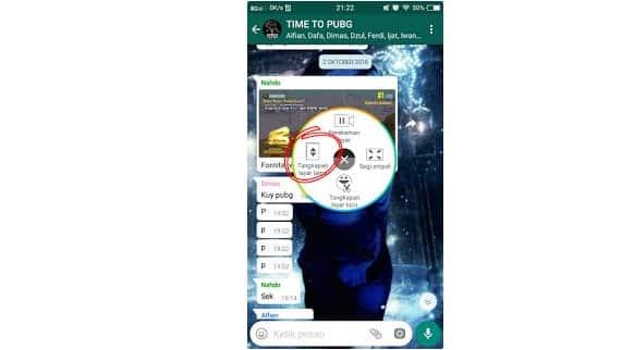 Cara Screenshoot Panjang VIVO