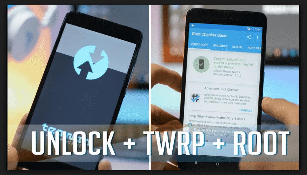 Cara Instal TWRP dan Root Redmi Note 4 Snapdragon Dan Mediatek Mido Dan Nikel