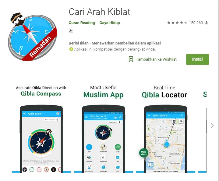 Aplikasi Penunjuk Kiblat