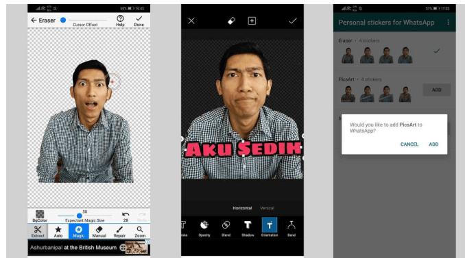 Cara Membuat Stiker Whatsapp Sendiri Lucu