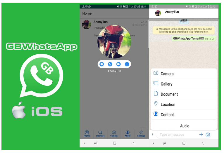 Aplikasi GB Whatsapp iOS