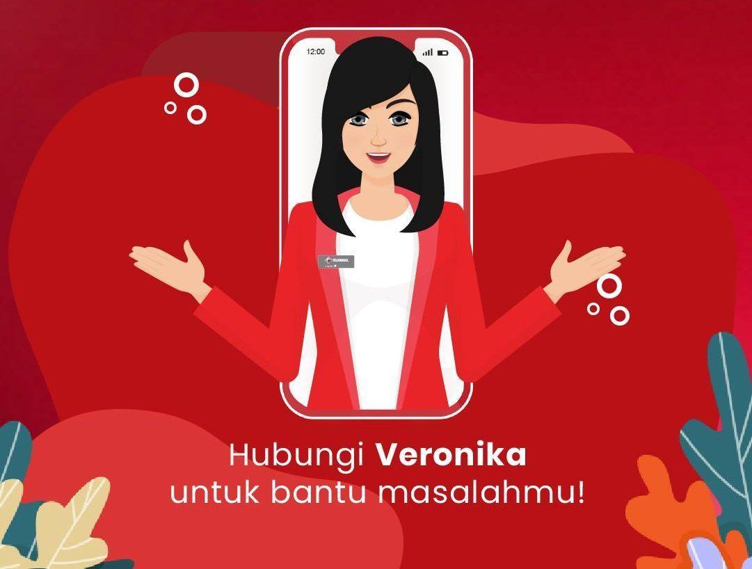 Tanya Veronika Asisten Virtual Perihal Apapun Tentang Telkomsel